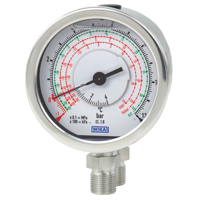 Man metro de presi n diferencial wika for Manometro para medir presion de agua